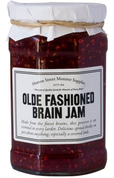 Olde Fashioned Brain Jam, Hoxton Street Monster Supplies