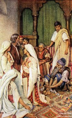 Acts 21 Bible Pictures: Agabus prophesies to Paul
