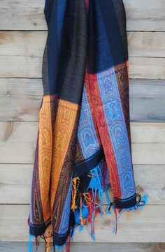 This handmade Thai scarf would dress up any outfit Plaid Scarf, Design Projects, Fashion Beauty, Scarves, Dress Up, Handmade, Outfits, Scarfs, Hand Made