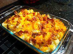 Hot Potato Salad Casserole