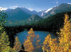 Rocky Mountain National Park. Trail Ridge Road