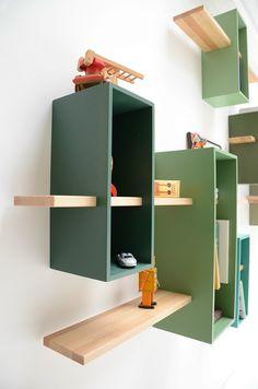 Libreria a parete componibile MAX - Compagnie