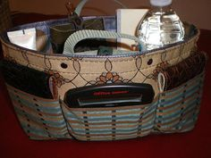 Purse organizer insert/Extra Sturdy/Stain by malycreations on Etsy, $30.99