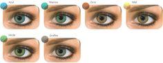 Natural Colors – Virtual Test – Green Eyes
