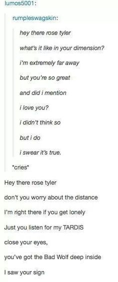 Doctor Who does 'Hey There Delilah'