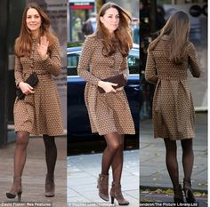 Style Guide CT: Kate Middleton, Duchess of Cambridge, in Orla Kiely Re-wear