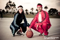 sports couple!
