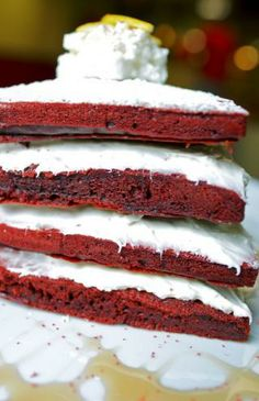 Red Velvet Pancakes at SuperChef's   Breakfast & More @ Downtown Columbus, OH  Wow!!!