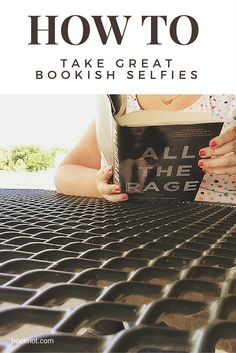 Up your bookish selfie game with our how-to guide to simple tricks you can try with nothing more than your camera phone.
