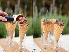 Peppermint crisp ice cream