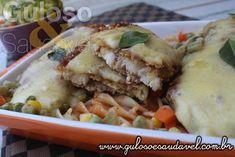 #BomDia! Este Filé de Saint Peter Empanado é daquelas receitas superfáceis de preparar, muito leve, saudável e deliciosa!
