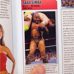 Saba Simba entry. #WWE
