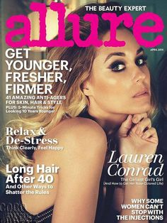 That California Glow! Lauren Conrad Is More Alluring Than Ever For Her Official Magazine Cover & Spread!