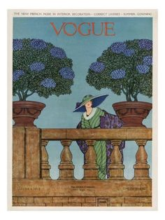 Vogue Cover - June 1912 Premium Giclee Print by Wilson Karcher at AllPosters.com