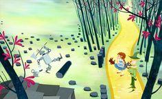 Oriol Vidal - Illustrations: Wizard of Oz