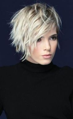 Edgy Short Hair, Short Hair With Layers, Short Hair Cuts For Women, Short Hair Styles, Layered Short Hair, Short Hair Over 50, Short Messy Bob, Short Pixie Bob, Shaggy Short Hair