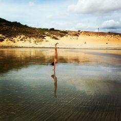 Photos: Handstands around the Northeast of Brazil ny2rio.com #ny2rio #handstands