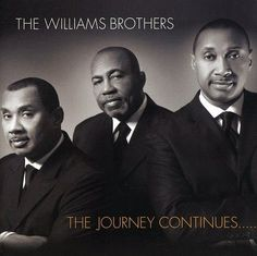 """The group was organized in 1960 by Leon """"Pop"""" Williams, founder and father of The Williams Brothers. They have been writing and arranging most of their music since 1970 and producing since Artist: The Williams Brothers. Music Icon, Soul Music, Christian Music Artists, Spiritual Music, Praise And Worship Songs, Sing To Me, I Love Music, Gospel Music, Dream Guy"""