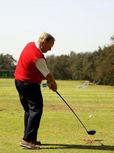 Jack Nicklaus Clinic at HASSAN II GOLF TROPHY 2010 at Royal Golf Dar Es Salam .