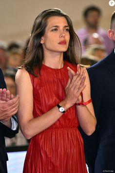 "Charlotte Casiraghi - Remise du ""Grand Prix du Prince de Monaco"" lors du Longines Global Champion Tour dans le cadre du Jumping international de Monte-Carlo, le 25 juin 2016. © Bruno Bebert/Bestimage ""Grand Prix du Prince de Monaco"" awards ceremony during the Longines Global Champions Tour of Monaco, on June 25th 2016.25/06/2016 - Monte-Carlo"