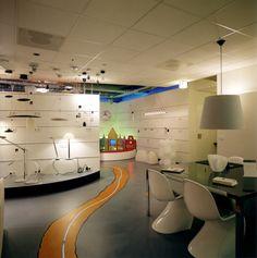 Lighting showroom, Tilburg, The Netherlands