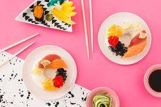 Food Hybrid: Heres Our Take on Internet Sensation Sushi Donuts via Brit + Co