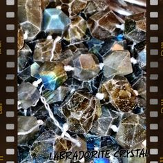 You can tell labradorite by its' flecks if blue, red & yellow. The grey stone is lunar so it reacts with the tides and my assist in pain while a woman is on her cycle. A very feminine stone.   Labradorite clears and opens the crown chakra by stimulating the wearer's intuition.