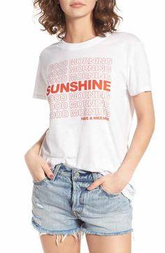 1a568d45b Sub_Urban Riot Good Morning Sunshine Graphic Tee Cool Graphic Tees, Graphic  Shirts, Shirt Print