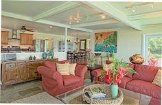 Kalihiwai Vacation Rental - VRBO 571208 - 4 BR North Shore House in HI, Breathtaking Ocean Views from Hawaiian Plantation Home $600