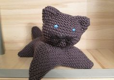 TUTO TRICOT APPRENDRE A TRICOTER UN CHAT TRES FACILE !!!!!!! EASY CAT KN...