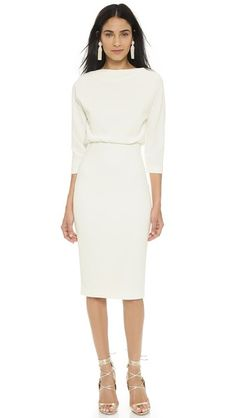 Badgley Mischka Collection - modest long-sleeve dress #tznius