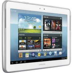 Samsung - Galaxy Note 10.1 Tablet with 16GB Memory - White - GT-N8013ZWYXAR