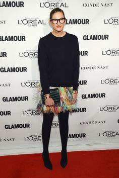 Jenna Lyons feather skirt -sewing inspiration