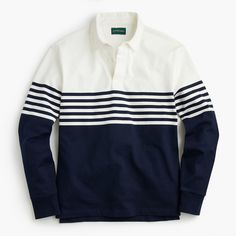 0a590310c6e 1984 rugby shirt in colorblock stripe. Mens Rugby ShirtsPolo TeesMen's KnitsNew  ...