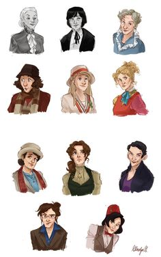 Gender-swapped Dr. Who