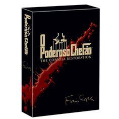 DVD Poderoso Chefão Coleção 4 DVDS Duração 177 Minutos Gênero Drama Extras