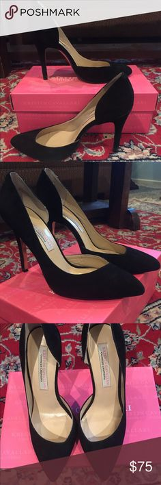 Kristin Cavallari Chinese Laundry Black Pump Suede Mint Condition!! Worn Once!! Size 8.5 Black Suede Pump! Very comfortable, classic and stylish. Worn for only a couple of hours. Chinese Laundry Shoes Heels