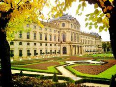 world heritage Bishop's Residenz and Baroque gardens, Wurzburg, Germany 2015 from petegeeblog.tumblr.com