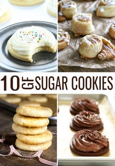 These 10 recipes for gluten free sugar cookies are perfect for every possible occasion. From classic cutout cookies that hold any shape you like, in chocolate or plain, to chewy sugar cookies and even cookies shaped like mini cinnamon rolls.