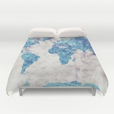 world map duvet coverglobe duvet covermap duvet coverbedding