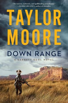 Moore creates a defined character, Garrett Khol who grew up and lives on a ranch in the Texas panhandle and who secretly works for the DEA. While protecting an Afgan refugee boy, Garrett fights a Mexican cartel that is moving drugs in his home state. A good debut novel in the vein of C.J. Box. Book Club Books, New Books, Books To Read, Green Beret, Thriller Books, The Hard Way, Riveting, Bestselling Author