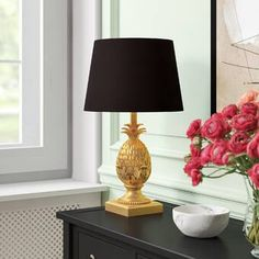 Bloomsbury Market Milena 62cm Table Lamp Set & Reviews   Wayfair.co.uk Table Lamp Base, Table Lamp Sets, Lamp Bases, Buffet Lamps, Bedside Table Lamps, Living Room Decor, Bedroom Decor, Night Lamps, Fabric Shades