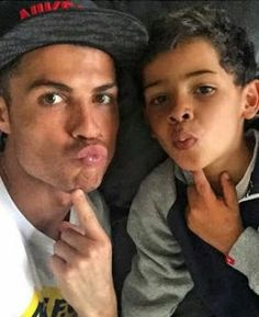 My son should be a footballer just like his father  Cristiano Ronaldo