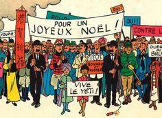 Tintin Christmas Greeting