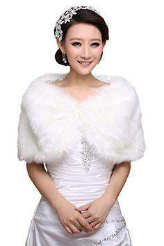 Yijun Wedding Bolero Shawl Wrap Jacket Shrug Cloak Faux Fur YIJUN http://www.amazon.com/dp/B00NAS3DTO/ref=cm_sw_r_pi_dp_xPOvub08KSF9K