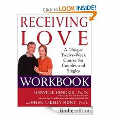 Receiving Love Workbook by Harville Hendrix PhD. $11.50. Publisher: Atria Books; Original edition (May 9, 2006). 208 pages