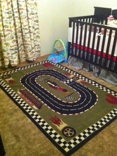 Race car nursery