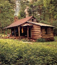 Log cabin in the woods Enjoy holiday in natural places #guestforhome