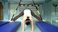 TRX Straddle Press Up to Pike