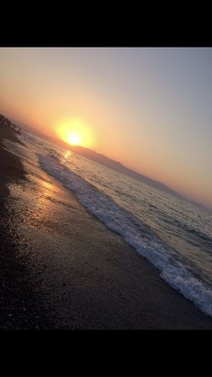 #crete #greece #summer #strand #hellas #sommer Crete Greece, Celestial, Sunset, Beach, Water, Outdoor, Gripe Water, Outdoors, The Beach